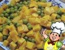 咖喱魔芋豌豆的做法