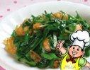 韭菜炒鲜虾的做法