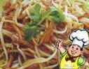 肉丝炒绿豆芽的做法
