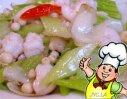 虾子炒芹菜的做法