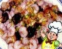 炒虾螺海的做法