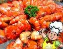蒸笼沙虾的做法