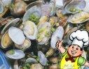 微波烤蛤蜊的做法