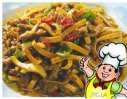 咖喱炒干丝的做法
